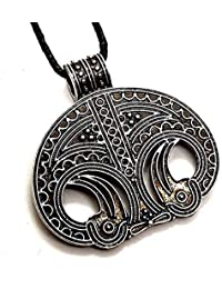 Lunula-Amulett // Mond-Anhänger Mond Anhänger Kette
