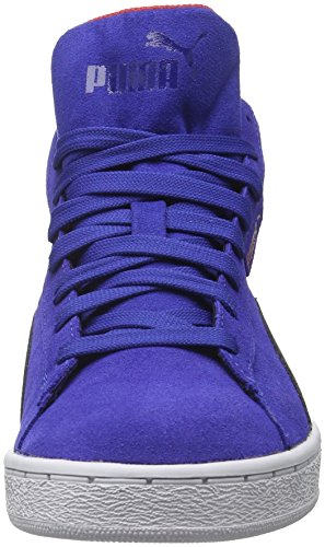 Puma 1948 Mid Gtx, Baskets Basses Mixte Enfant Bleu - Blau (Mazarine blue-peacoat 06)