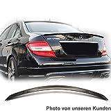 Car-Tuning24 41717813 wie AMG C W204 SPOILER HECKFLÜGEL * Lackiert Obsidianschwarz 197 * Type A