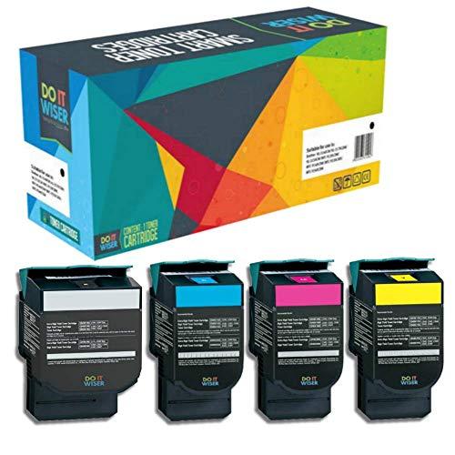Kompatibel zu C540H1KG C540H1CG C540H1MG C540H1YG für Lexmark X544 C543DN C540N C540 C544 C544DN C544DW C544N C546DTN X543 X543DN X544DN X544DW X544N X546DTN X548DE X548DTE C543 ()