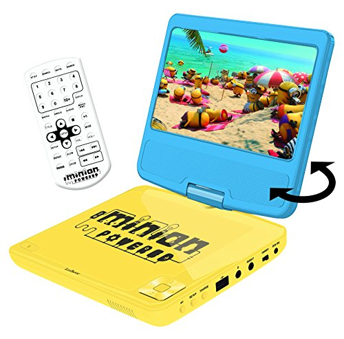 LEXIBOOK - DVDP6DES - Lecteur DVD Portable DVD Player