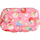 Baby Station Baby Bed Tent With Mosquito Net (Peach Star Print)