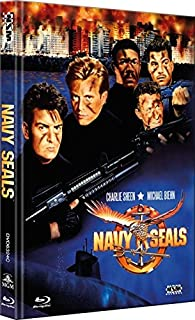 Navy Seals - uncut (Blu-Ray+DVD) auf 333 limitiertes Mediabook Cover C [Limited Collector's Edition]