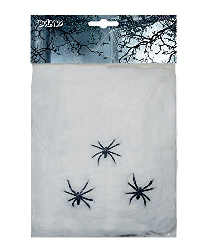 Boland Spinnweben S Bianco (Kostüme Halloween Princess Nicht)