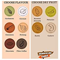 Wandering Foodie Customized Ladoo - Besan, Jaggery, Pistachio - 500 Grams