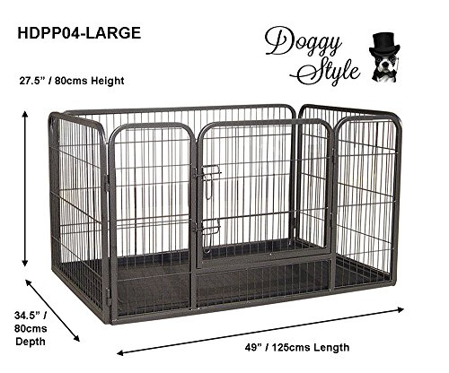doggy-style-heavy-duty-whelping-pen-with-abs-tray-4-sizes-puppy-playpen-play-pens-large