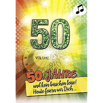 Geburtstagskarte 70 mit musik