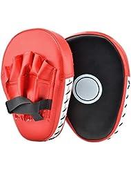 Pattes d'ours Cozyswan Mitaines de Punch en Cuir pour Boxe/Thaï/ Taekwondo Sport de Combat