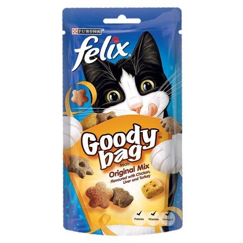 Felix Goody Bag - Bolso de gallina/hígado/Turquía, 60 g