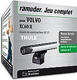 Rameder Pack Barres de Toit SlideBar pour Volvo XC60 II (142237-37773-1-FR)