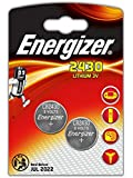 LOT DE 2 PILES ENERGIZER CR2430 - 1 BLISTER DE 2 - LITHIUM 3V