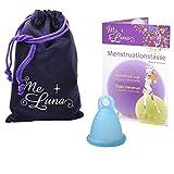 Me Luna Coupe menstruelle Soft, bague, cyan taille Shorty S