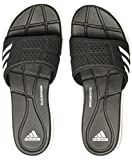 adidas Damen Adipure CF W Flip-Flops, Schwarz (Core Black/Footwear White/Core Black), 40 1/2 EU (7 UK)