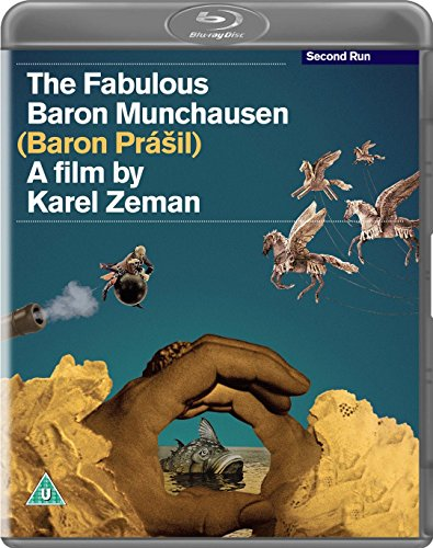The Fabulous Baron Munchausen [Blu-ray]