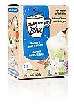 SleepyLove Jasmine Tea reine Bio Mischung aus Jasmin und Bachblüten - Für eine beruhigende Wirkung und fördert einen gesunden Schlaf, 2 x 5 Beutel