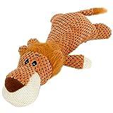 JKRTR Haustier Hund Quietschendes Zahnpflege Spielzeug InteraktivesPlüschtier süßes kleines...