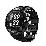 GPS-Positionierung Smart Watch 4,2 Bluetooth Watch Mehrere Sport-Modus, Um Tiefe Wasserdichte Gesundheit Mahnung Android-Handy Für Männer Und Frauen Zu Schalten,Black