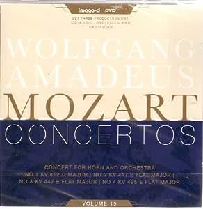 Horn Concertos Vol.15 - No.1/2/3/4