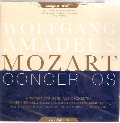 Preisvergleich Produktbild Horn Concertos Vol.15 - No.1 / 2 / 3 / 4