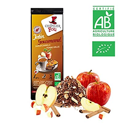 Rooibos pomme grillée cannelle Bio - Sachet Vrac 100g - ? Certifié Agriculture Biologique ?