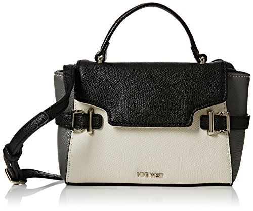 nine-west-womens-clean-living-cutie-satchel-sm-top-handle-bag-milk-black-grey