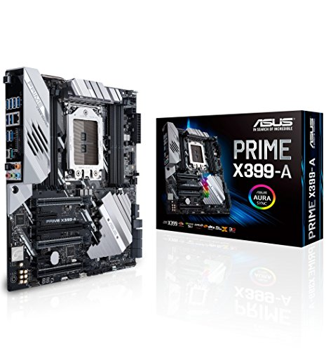 Price comparison product image ASUS PRIME X399-A Socket TR4/X399/DDR4/S-ATA 600/E-ATX Motherboard - Black