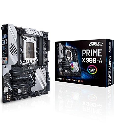 Price comparison product image ASUS PRIME X399-A Socket TR4 / X399 / DDR4 / S-ATA 600 / E-ATX Motherboard - Black