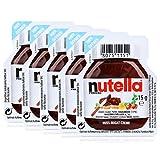 5x Ferrero Nutella Nuss-Nougat-Creme Brotaufstrich Portionspackung 15g