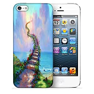 Snoogg Stairs to Heaven Designer Protective Phone Back Case Cover for Apple iPhone SE