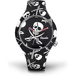 Doodle Watch Unisex Skull Mood