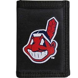MLB Cleveland Indians Velcro Tri-fold Wallet