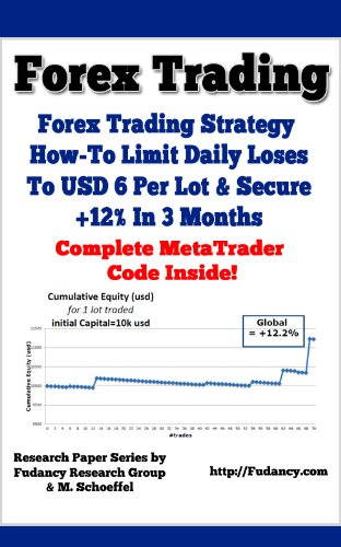 Forex Trading - Forex Trading Strategy: How-To Limit Daily Loses to USD 6 Per Lot And Secure +12{ac7ce3697d9da24a52e42b66a702a80c51047b2ba354847c9e7bc2b896982db4} In 3 Months - Complete MetaTrader Code Provided Inside! (English Edition)