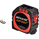 Tape Measure Retractable - 3 In 1 Digital Tape Measure String Mode, Sonic Mode & Roller Mode, Accurate to 1/100TH of an inch