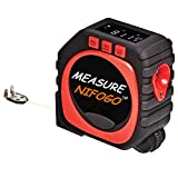 Tape Measure Retractable - 3-in-1 Digital Tape Measure String Mode, Sonic Mode