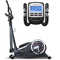 Sportstech CX625 Crosstrainer - Compatible with Smartphone App, 24 kg Flywheel + Workout with Google Street View & 22 Training Programs with HRC Function + Tablet Holder + Multifunctional Interface