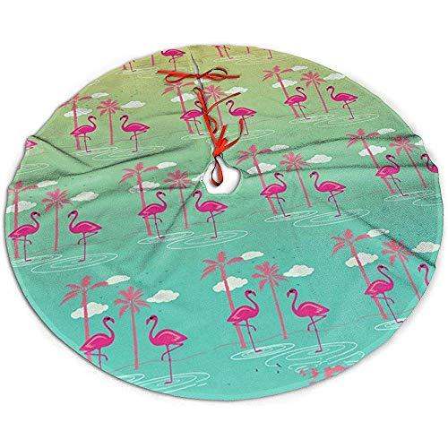 Egoa Falda De Árbol Cute Animal Birds Colorful Pink Flamingo Una ...