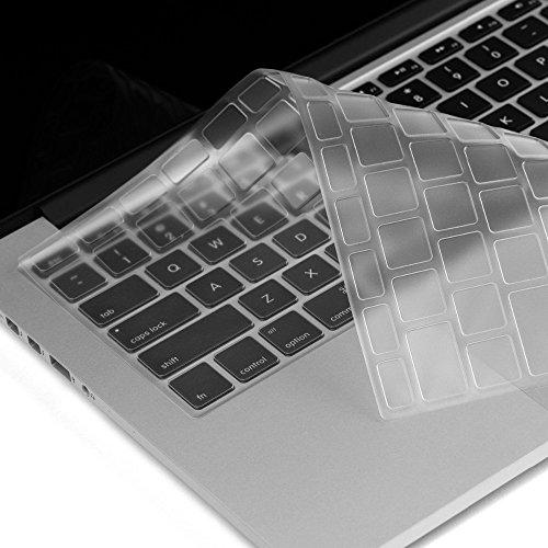 zanasta Silikon Tastaturschutz für Apple MacBook 12