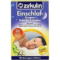Zirkulin Einschlaf- Dragees Baldrian & Hopfen, 80 Stück preisvergleich bei billige-tabletten.eu