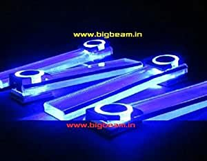 Car interior light car accessories blue led lighting innova swift alto or any model car - Beauriful interior