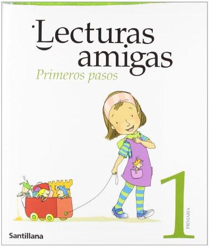 Primeros pasos, lecturas amigas, 1 Educación PriMaría - 9788429488791 por Santillana