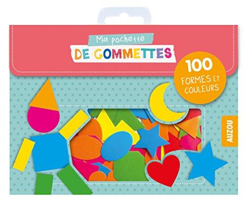 100 gommettes formes et couleurs (coll. ma pochette de gommettes) par collectif