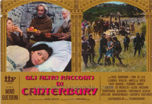 Other Canterbury Tales Plakat Movie Poster (11 x 17 Inches - 28cm x 44cm) (1975) J