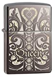 Zippo 60.000.266 Feuerzeug Queen Black Ice Choice Catalog 2014