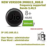 #10: Jio-Pcs System 4G Hotspot Mini Size Fi 6 Model with 3000 mAh Battery for All Wifi Enabled Devices Supported
