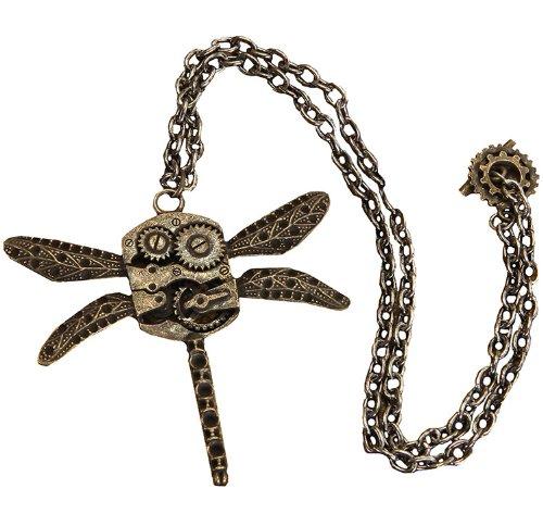 k Libelle Zahnräder Kostüm Kette für Erwachsene (Erwachsenen-dragonfly Kostüm)