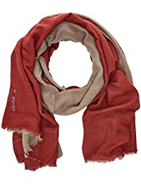 HÄRVIST Fular Rojo/Arena, Unisex Adulto, One Size (Tamaño del Fabricante:Única)