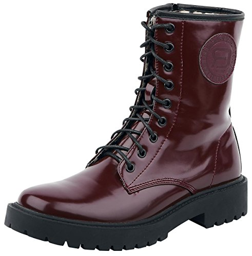 R.E.D. by EMP 9 Hole Boot Anfibi/Stivali bordeaux EU39