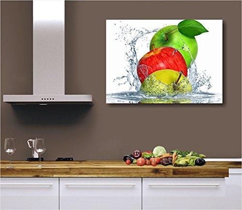 Apples fresh - Quadro moderno intelaiato 70x50