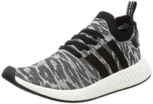 adidas Herren NMD_R2 PK Sneaker Mehrfarbig Core Black/FTWR White, 42 EU