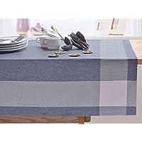 Blu Erika a quadretti tovaglia tavolo panno elegante pratico e